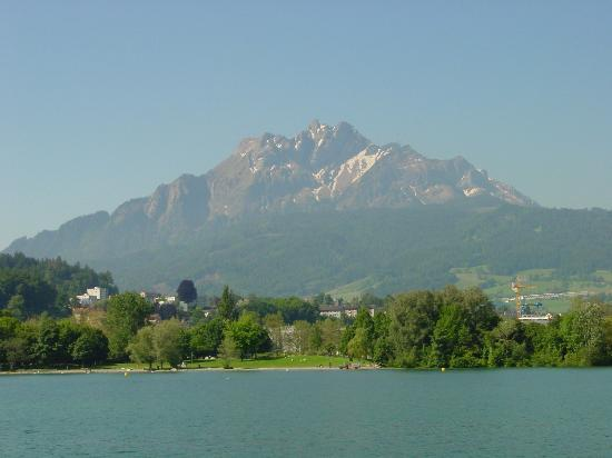 """Pilatus from the """"Lake of Lucerne"""""""