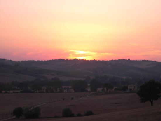 Tenuta di Monaciano: Shot of the countryside