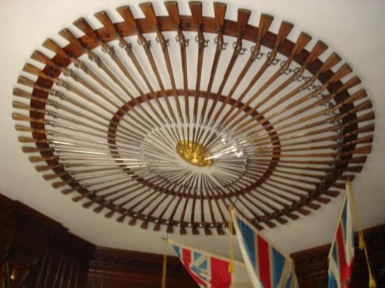 Colonial Williamsburg: Ceiling Decor In The Mansion