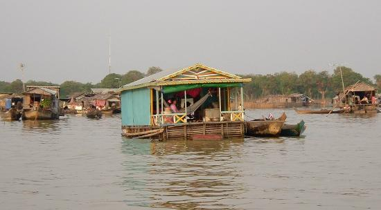 Siem Reap, Kamboçya: Floating Village