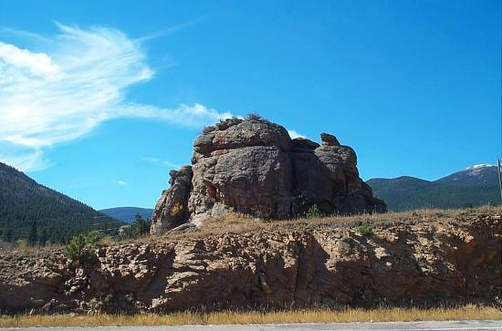Estes Park, CO: Rock Formation