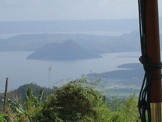 Lake Taal: Taal Volcano in the midst of Taal Lake