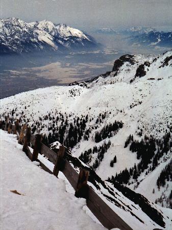 Axamer Lizum: A view towards Innsbruck