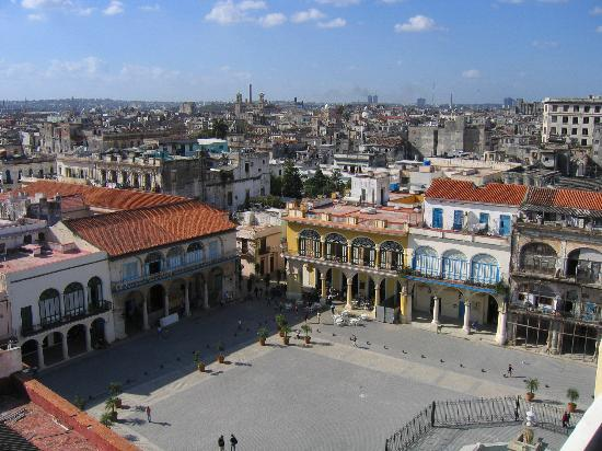 La Havane, Cuba : Plaza Vieja, Old Havana