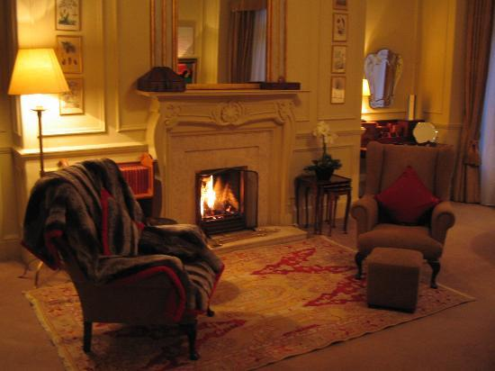 The Balmoral Hotel: Sitting Area of the Master Bedroom