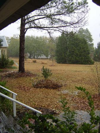 Briarfield at Round Top : View from the lodge porch