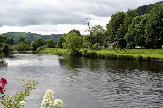 North Wales, UK: Llanrwst. North Wales