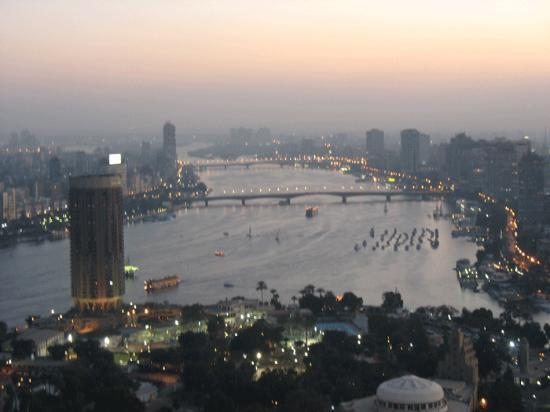 Windsor Hotel Cairo: View from Cairo tower