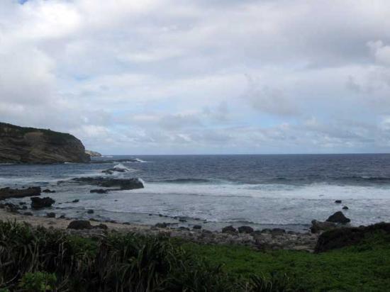 One of the beaches on Saipan