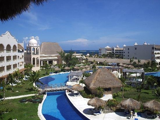 Excellence Riviera Cancun : View from our room