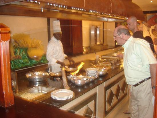 Grand Bahia Principe Bavaro: Le bar à pâtes