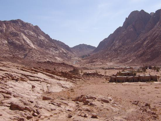 Saint Catherine, Egito: views to St Catherine's