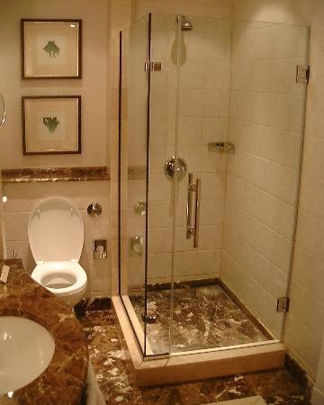 Corinthia Hotel Budapest: Bathroom shower