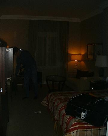 Corinthia Hotel Budapest: Not the best picture of the room...sorry