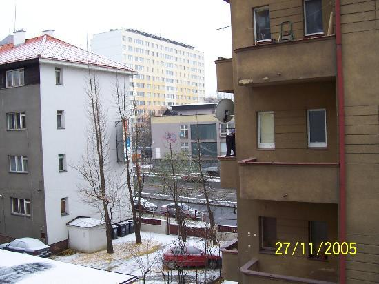 Otar: Photo from our window on 3rd floor