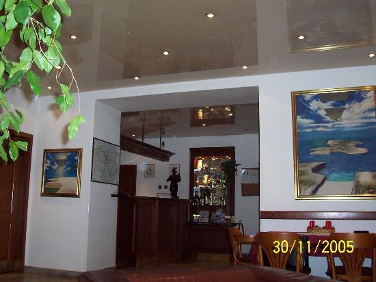 Otar: The small lobby  and reception