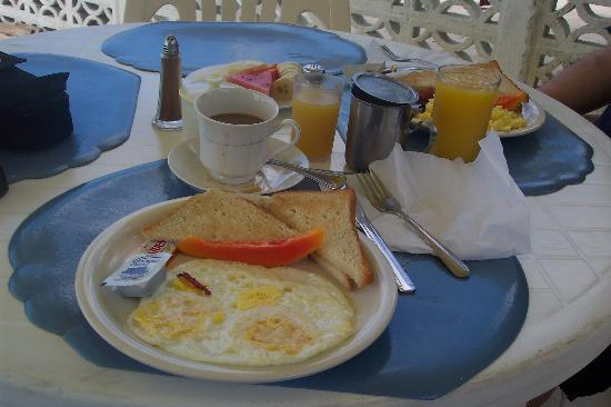 White Sands Negril: Sonia's amazing breakfasts!