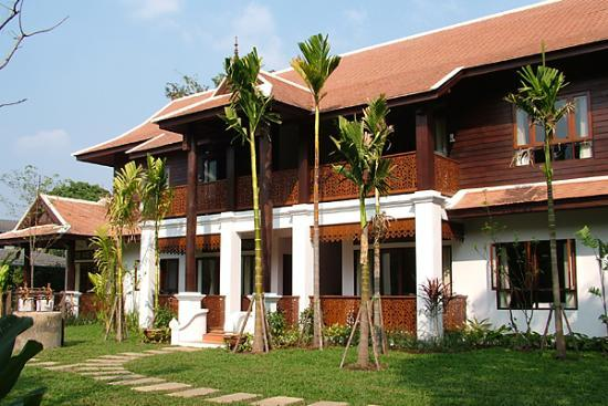 Baan Orapin Bed and Breakfast: Part of the new building at Baan Orapin