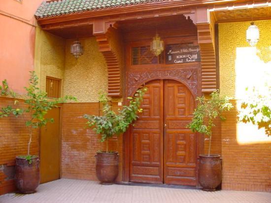 Riad Amssaffah: The front door