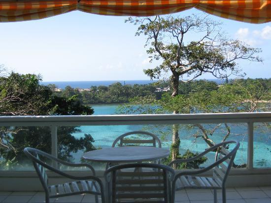 Goblin Hill Villas at San San : our Balcony