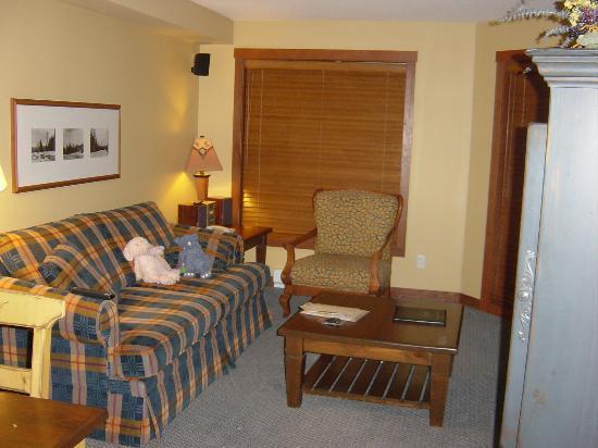 Horstman House: Livingroom area in 1 BR unit