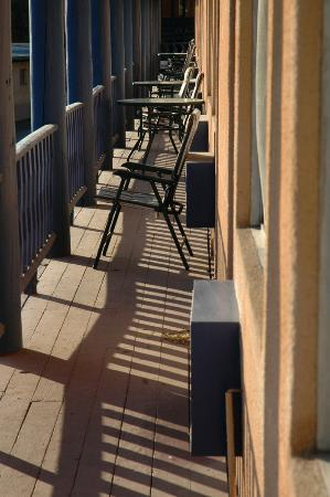 Kachina Lodge Resort and Meeting Center: hotel balcony