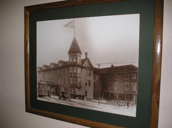 Escanaba, MI: Historic photo (found in another hotel)