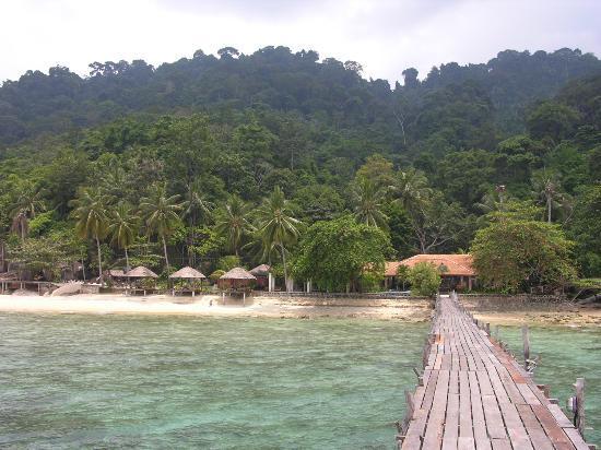 Japamala Resort - By Samadhi: view from jetty