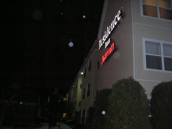 Residence Inn Lansing West : Exterior see arrived after a bizzard