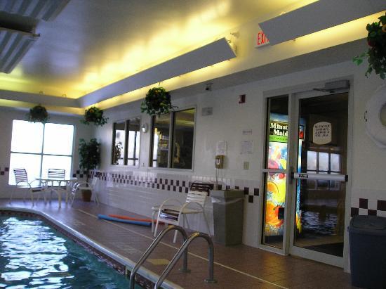 Residence Inn Lansing West: pool area