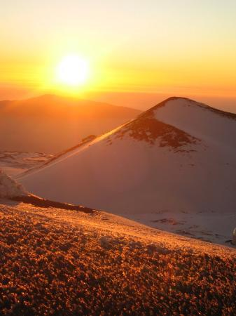 Mauna Kea Summit Adventures: Sunsent on the Summit