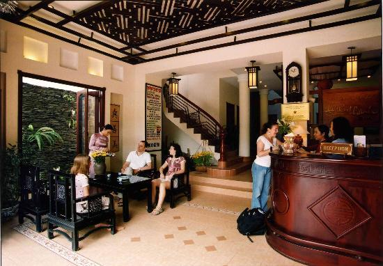 Thien Thanh Boutique Hotel: Reception