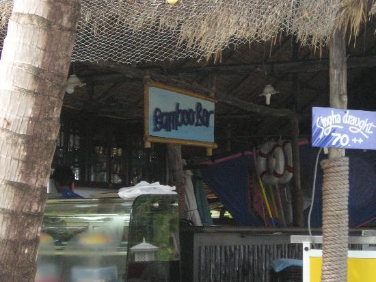 โรงแรมเคปพันวา: beach bar