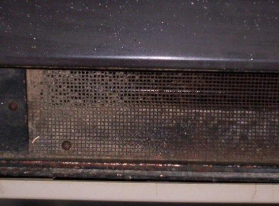 Best Value Inn and Suites Shreveport: heater vent
