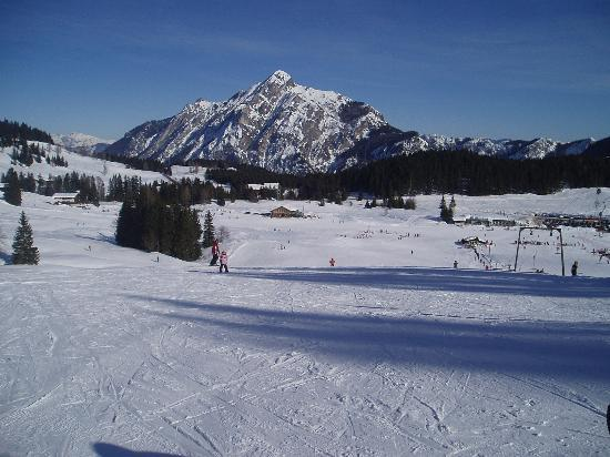 Hotel Zimmerbräu: View of Postalm