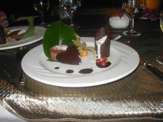 Shandrani Beachcomber Resort & Spa All Inclusive: Dessert!