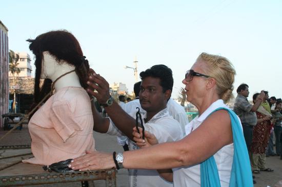 Uday Samudra Leisure Beach Hotel & Spa: cape comorin daily escursion