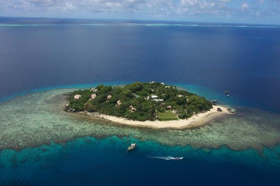 Royal Davui Island, Fiji: View from Helicopter (taken by friends)