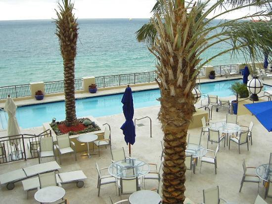 The Atlantic Hotel & Spa: View from room xx07