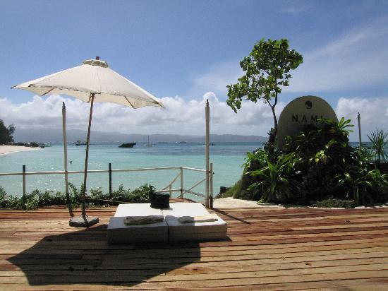 Nami Resort: Nami's private deck