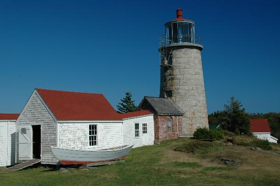 Lighthouse, Monhegan Island, Maine, USA