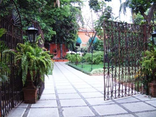Hotel Hacienda de Cortes: Entrance