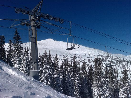 Breckenridge, CO: View of Imperial Express