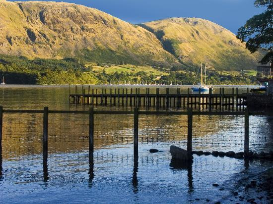 Watermillock, UK : Ullswater from Rampsbeck Country House Hotel