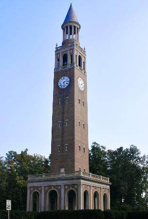 Chapel Hill, Carolina del Norte: The Bell Tower