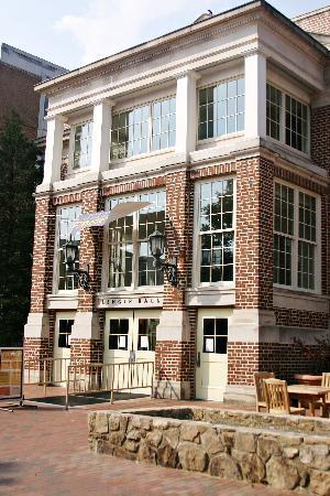 Chapel Hill, NC: the newly remodeled Lenior Hall (dining hall)