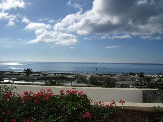 Hotel Costa Calero: View from sea facing room