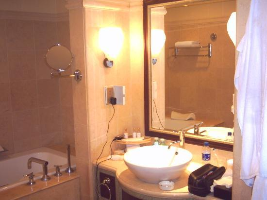 News Plaza Hotel: bathroom view