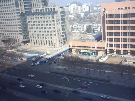 News Plaza Hotel: view from room at Beijing News Plaza