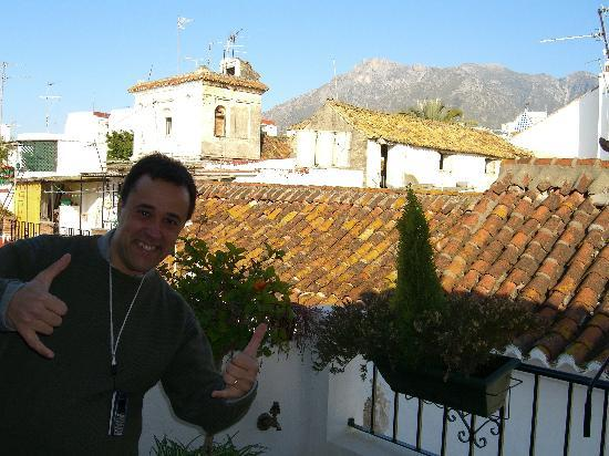 La Villa Marbella: Host Marcos on rooftop terrace